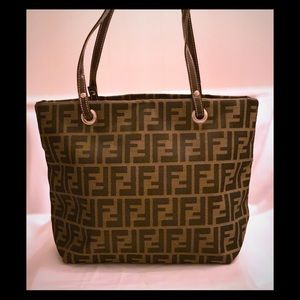 NWOT- Small Fendi Tote. Authenticity not verified